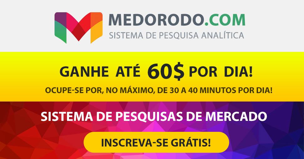 Medorodo.com - Sistema de pesquisas de mercado